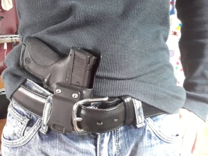 The Errand allows for full access and grip even while holstered.